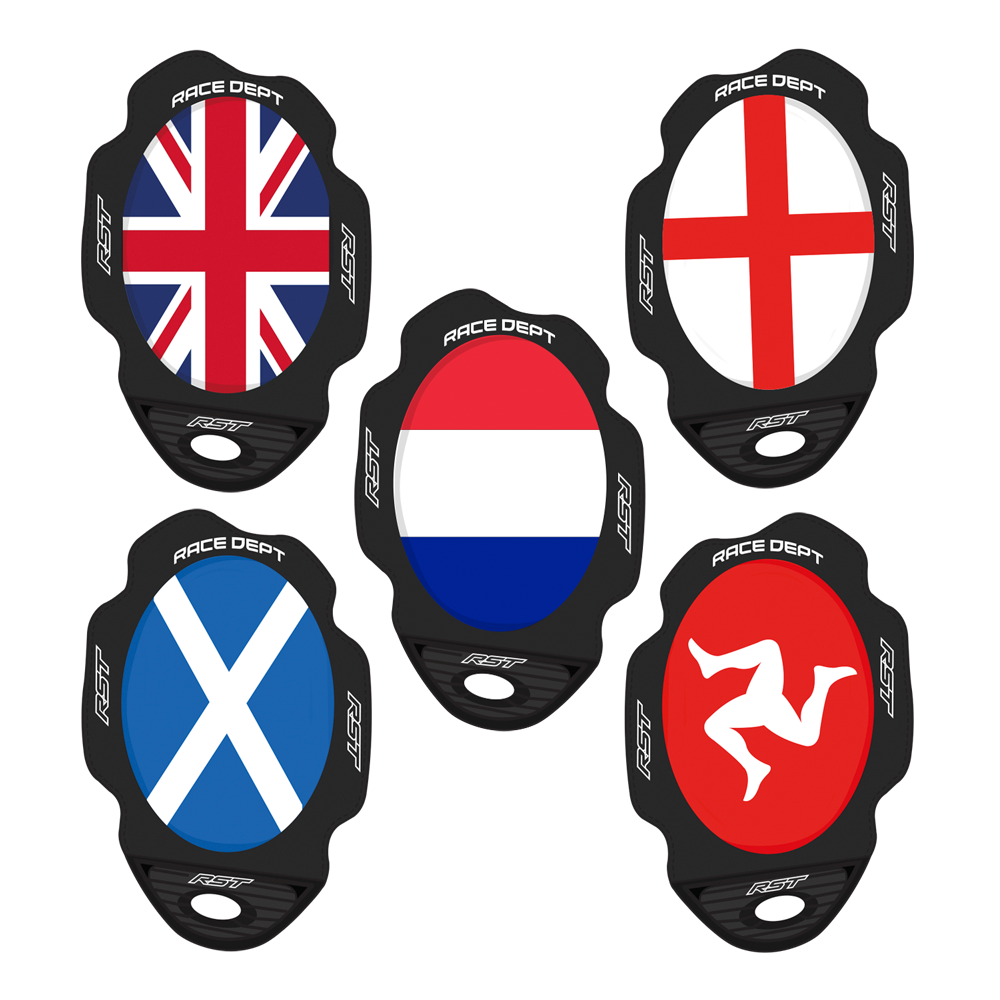 RST Flag Series Knee Sliders