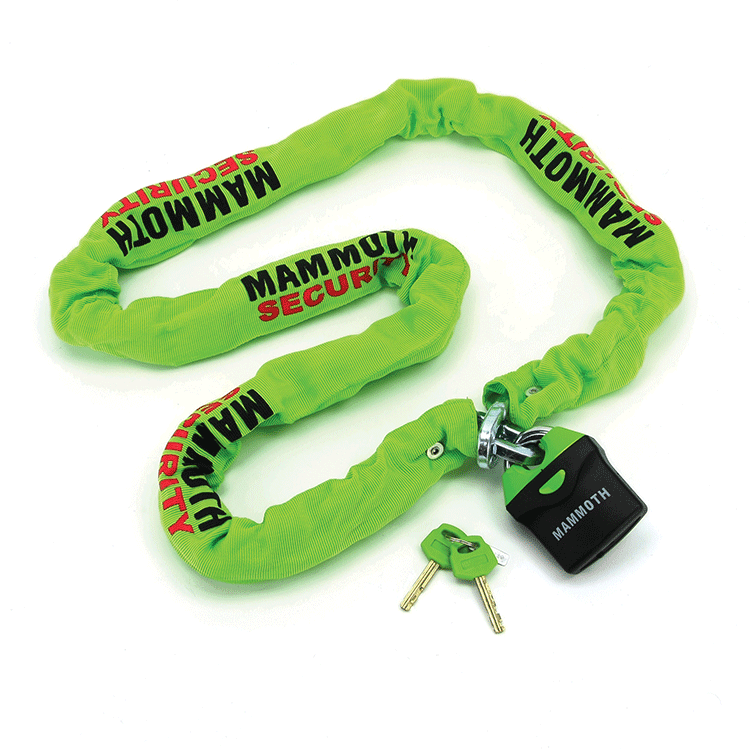 Mammoth 10MM Square Link Lock and Chain