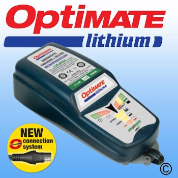 Optimate Lithium 0.8A Battery Charger/Conditioner