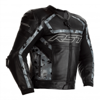 RST TracTech Evo R Leather Jacket CE Approved