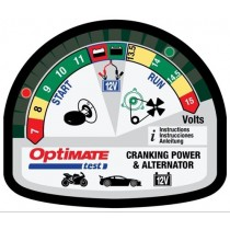 Optimate TS-120 Cranking Power and Alternator Tester