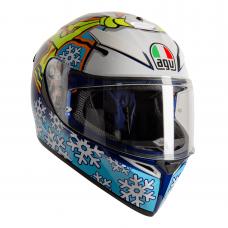 AGV K3SV-S Rossi Winter Test 2016