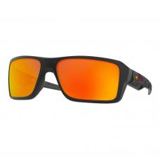 Oakley Double Edge Sunglasses Matte Black Prizmatic